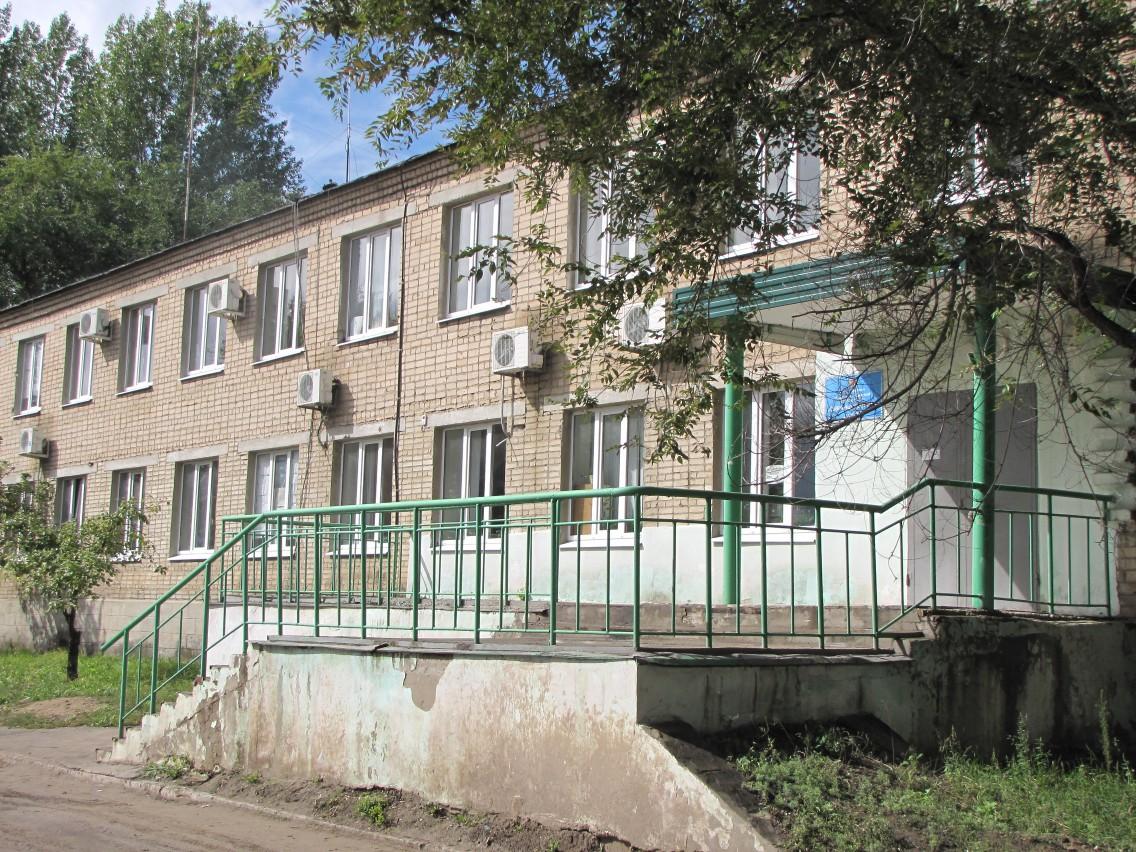 Производственная база, административное здание  Сызраньводоканал